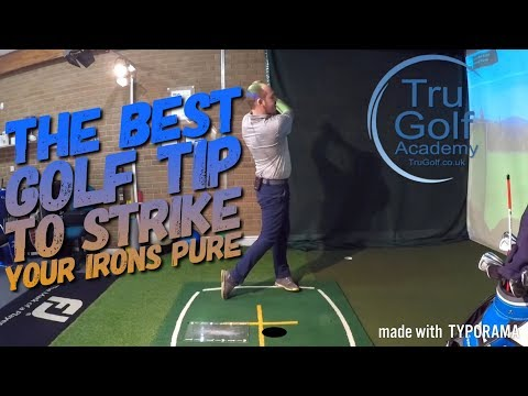 THE BEST GOLF TIP TO STRIKE YOUR IRONS BETTER!