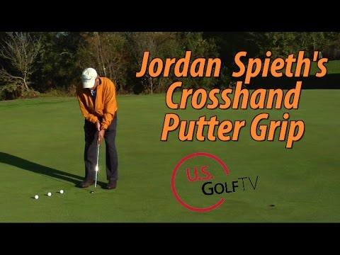 Putting Tip: CrossHand or Left Hand Low