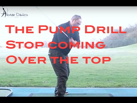 Golf Tip| Swing Plane| Pump Drill| Find The Slot