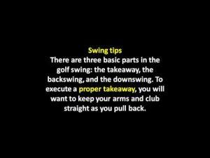 Beginners Golfing Tips | Golf swing secret