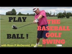 Swing it like a Baseball Bat – More Driving distance with the Baseball Drill