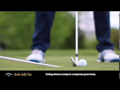 Insta Golf Tips – Hit Down With Irons