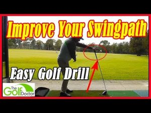 Improve your Golf Swing Path With The Left Hand On Driver Drill