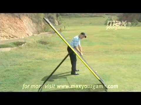 Golf explanation of swing plane