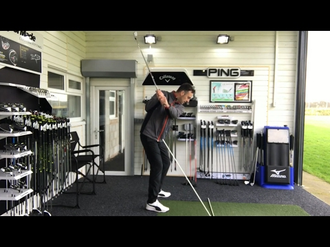 Stop Your Over The Top Swing & Slice! Swing Tip Using Swing Plane Perfector Training Aid