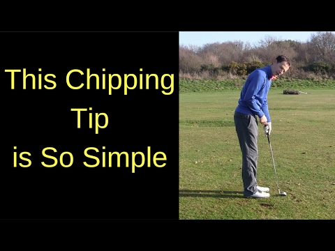 STRIKE YOUR CHIP SHOTS – ONE SUPER SIMPLE GOLF TIP