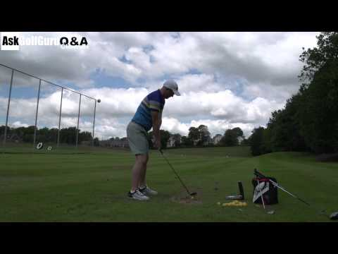 Golf Irons From a Tee or The Ground