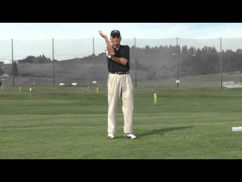 Golf Instruction: Left Hand Behind Upper Right Arm Drill