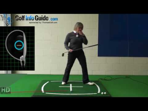 Left Hand Golf Tip Ladies Thomas Golf Ladies Hybrid Club Alignment