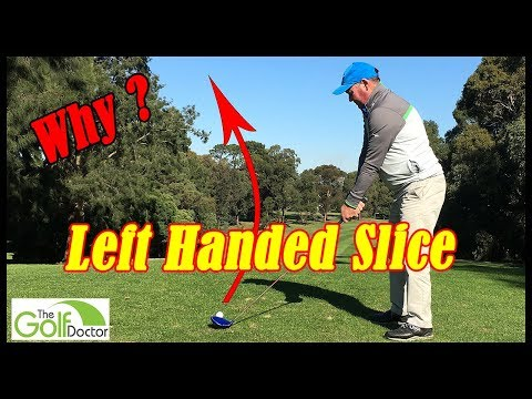 Left Handed Golf Tip | Left Handed Golf Swing Tips |Why Most Left Handed Golfers Slice