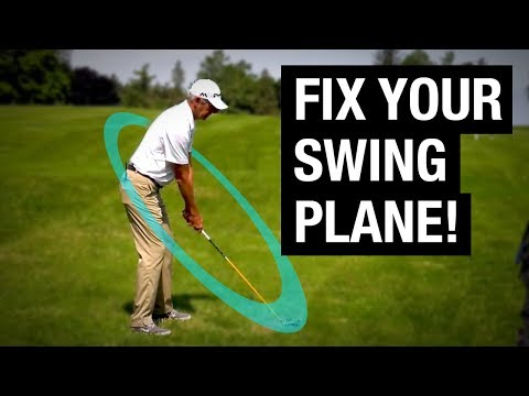 How To Fix Your Golf Swing Plane (PGA PRO EXPLAINS!)