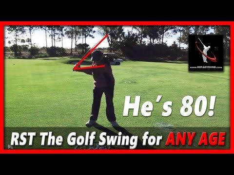 THE Golf Swing for the Older Man – 80 Year Old Golfer – RoadShow Lesson 11