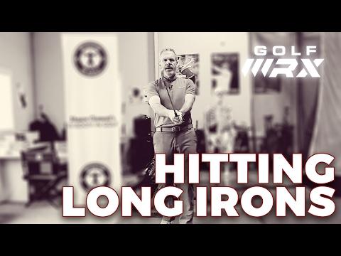 HITTING LONG IRONS   Wisdom in Golf   Golf WRX
