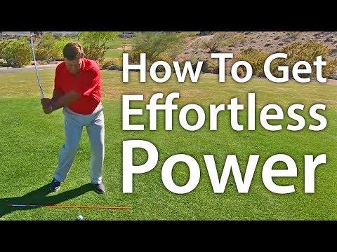 Golf Tip: How To Get Effortless Power