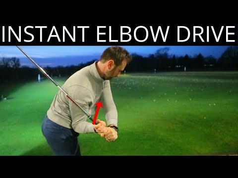 HOW TO TRAIN YOUR RIGHT ELBOW IN YOUR DOWNSWING WITH THIS BASIC TIP