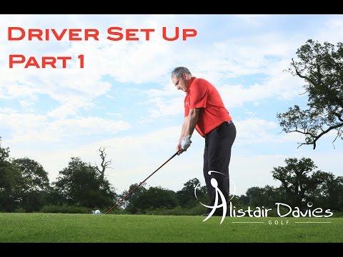 Golf Tip  Driving  Set Up