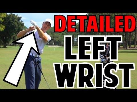 The Left Wrist in the Golf Swing   Crazy Detail