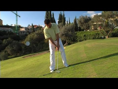 How To Be Better At Your Uphill Chipping Technique
