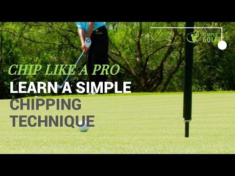 Golf   Simple Chipping Technique For Consistent Strikes 2nd Gear
