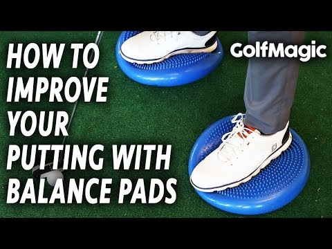 How To Improve Your Balance When Putting | Easy Golf Putting Tips And Drills