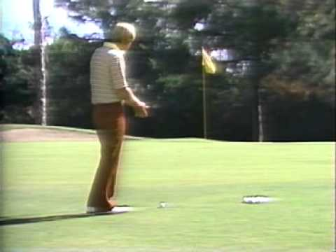 Jack Nicklaus on The Basic Bunker Shot and Chipping