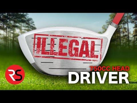 I bought an ILLEGAL GOLF CLUB…..750CC Driver Head