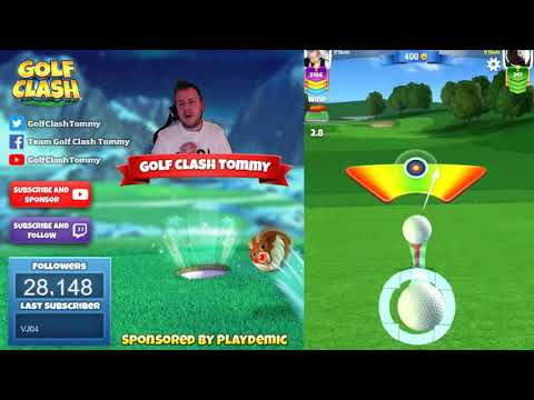 Golf Clash tips, Playthrough, Hole 1-9 – ROOKIE – Winter Slopes Tournament!