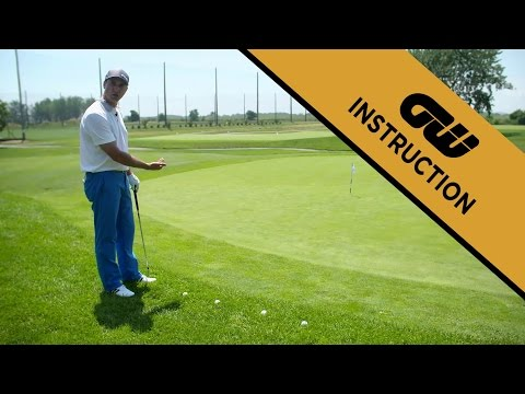 Instruction: Peaceful golf – Putting from off the green