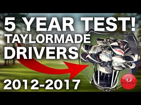 5 YEARS OF TAYLORMADE GOLF DRIVERS TESTED! 2012-2017
