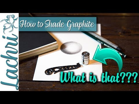 How to blend graphite for beginners + MAGCON artist tool – Lachri