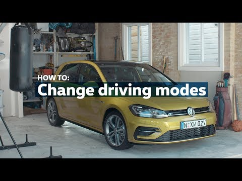 How to: Change your driving modes | Volkswagen Australia
