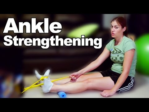 Ankle Strengthening Exercises & Stretches – Ask Doctor Jo