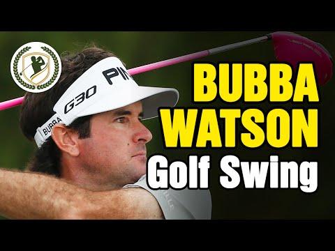 BUBBA WATSON SWING – SLOW MOTION GOLF SWING ANALYSIS
