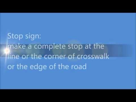 Few tips to pass your G driving test in Ontario 安省多倫多G牌的考試要領