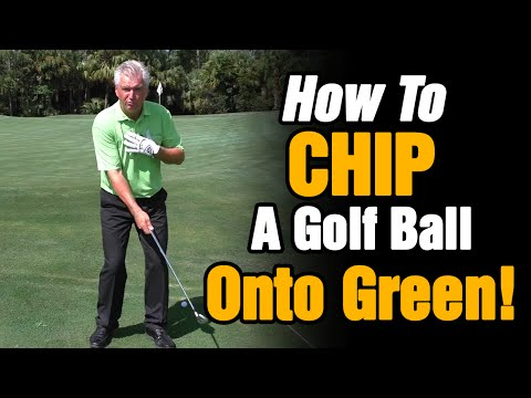 HOW TO CHIP A GOLF BALL ONTO THE GREEN – SIMPLE TIPS TO HELP YOU CHIP GOLF BALL BETTER