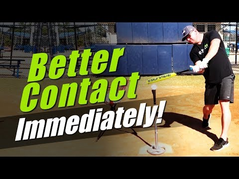 7 EASY WAYS TO IMPROVE YOUR CONTACT!  [Baseball Hitting Tips for Better Contact]