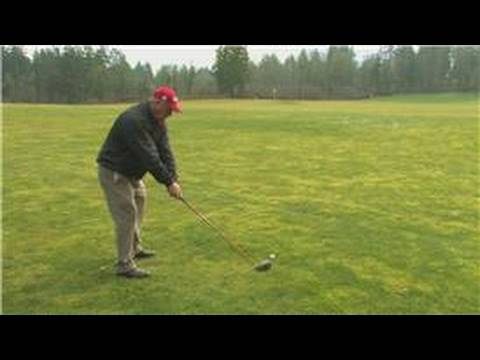 Golf Swing Tips : How to Fix an Outside Swing in Golf