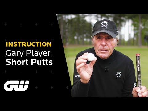Gary Player Short Game Tips | Short Putting | Instruction