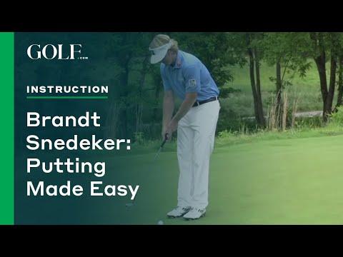 Brandt Snedeker: Putting Made Easy