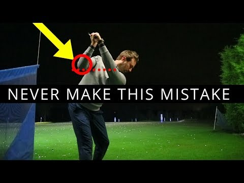 FIX YOUR BACKSWING WITH THIS ELBOW MOVE