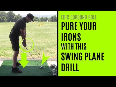 GOLF: Pure Your Irons With This Swing Plane Drill