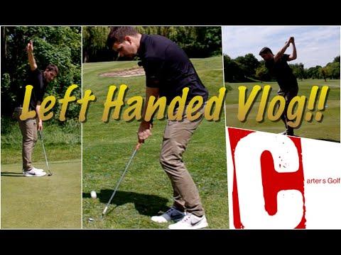 Left Handed Golf Series | My 1st Ever Left Handed Vlog #Break90