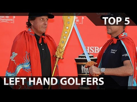 Top 5 Left Hand Golfers