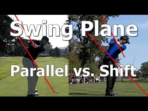 Golf Swing Plane Lesson: Learn the difference between a Parallel Plane and Plane Shift