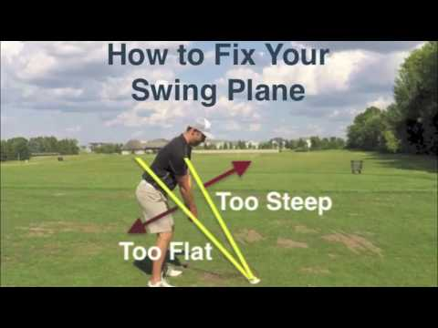 GOLF: How to Fix Your Golf Swing Plane