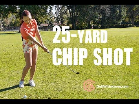 25-yard Chip Shot | Golf with Aimee