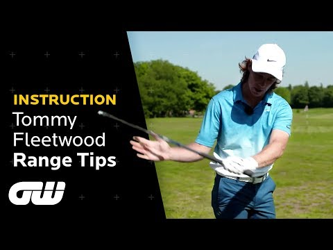 Fixing Slices and Hooks on the Range | Tommy Fleetwood's Driving Range Tips | Golfing World