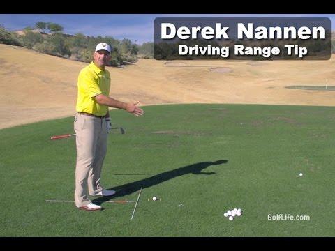 Get Better at Golf – Driving Range Golf Tip