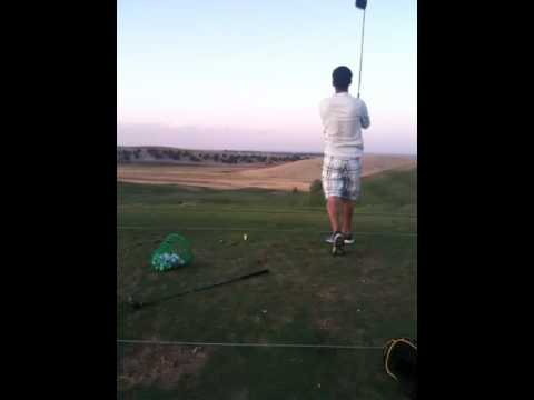 My left hand golf swing – please analyze and give me golf tips