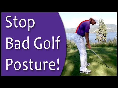 Golf for Beginners – Posture at Setup (From Golf's #1 Instruction System – RST)